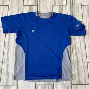 Mountain Hardwear polyester shirt. EUC